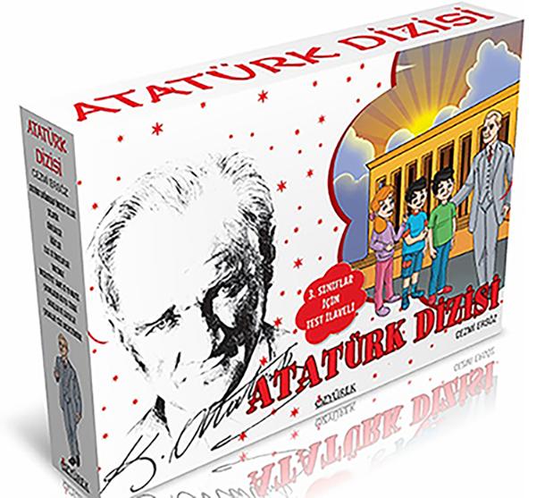 Atatürk Dizisi (10 Kitap + Test İlaveli)