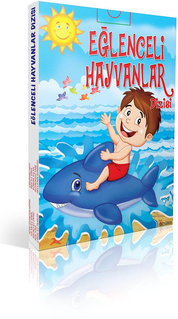 Eğlenceli Hayvanlar (10 Kitap)