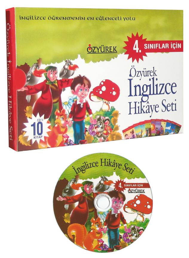 İngilizce Hikaye Seti 4. Sınıf (CD