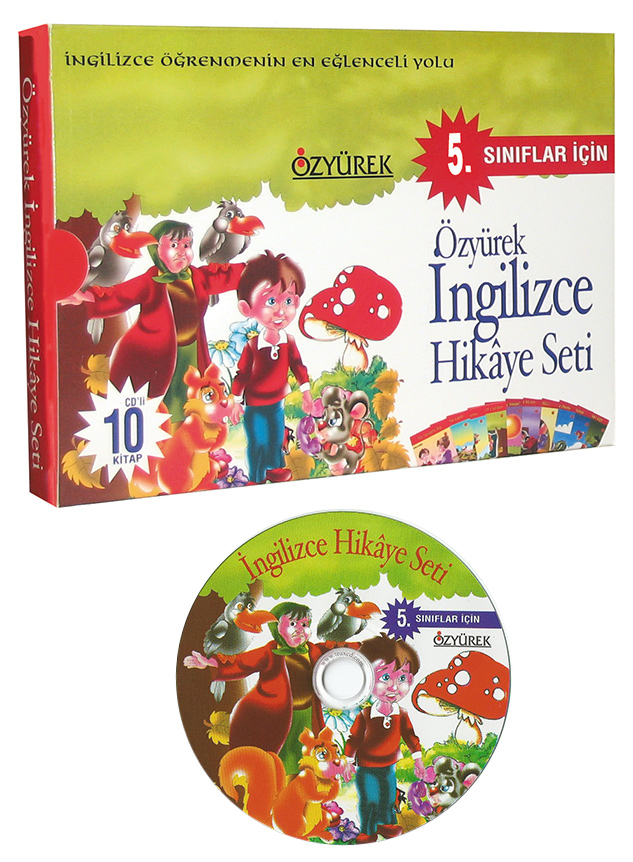 İngilizce Hikaye Seti 5. Sınıf (CD