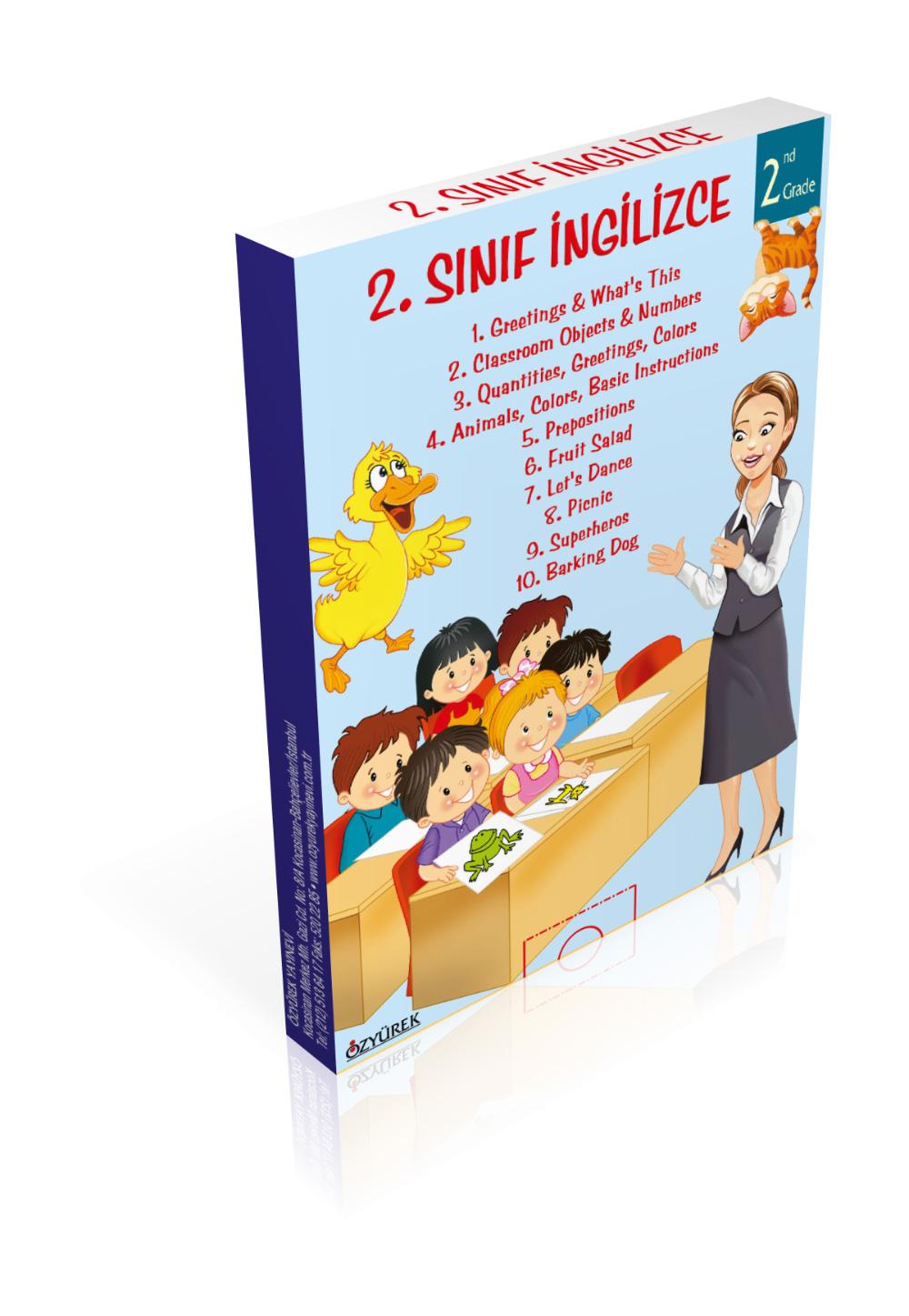 İngilizce Hikayeler 2. Sınıf (10 Kitap)