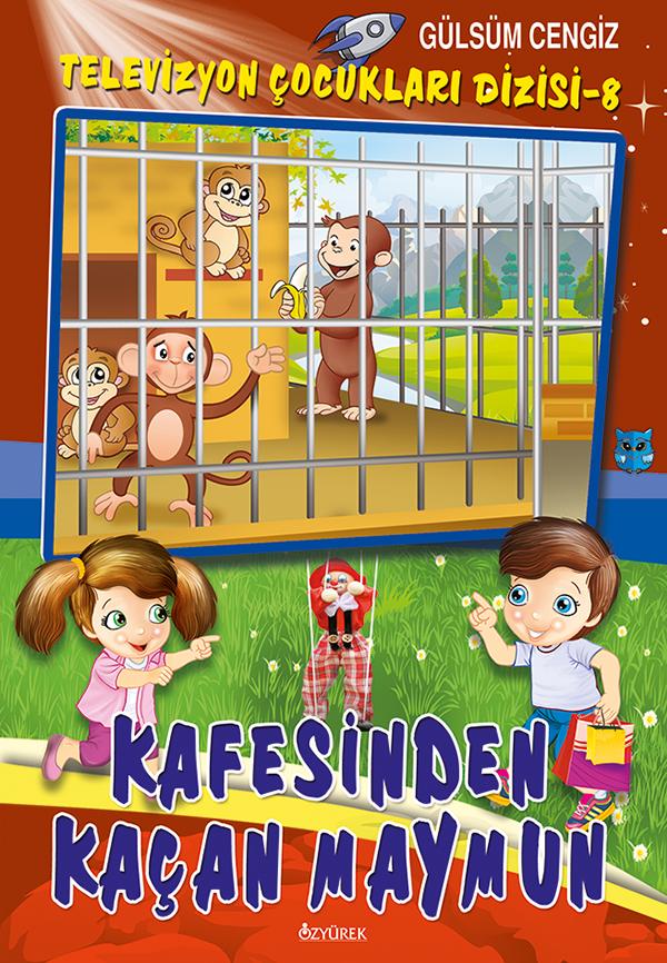 Kafesinden Kaçan Maymun