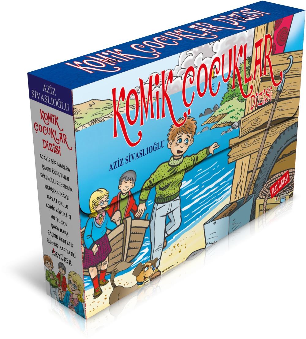 Komik Çocuklar 10 Kitap + Test İlaveli