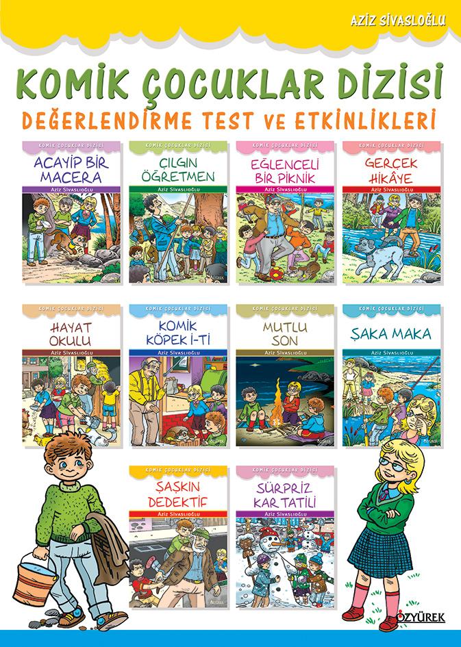 Komik Çocuklar Test Kitabı