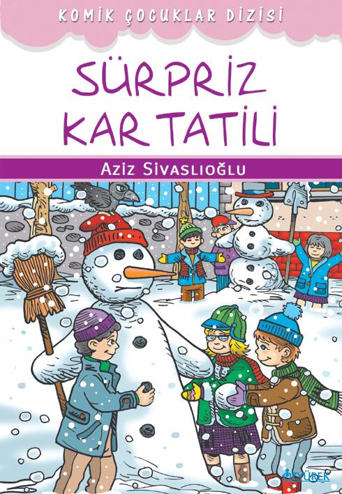 Komik Çocuklar ve Sürpriz Kar Tatili